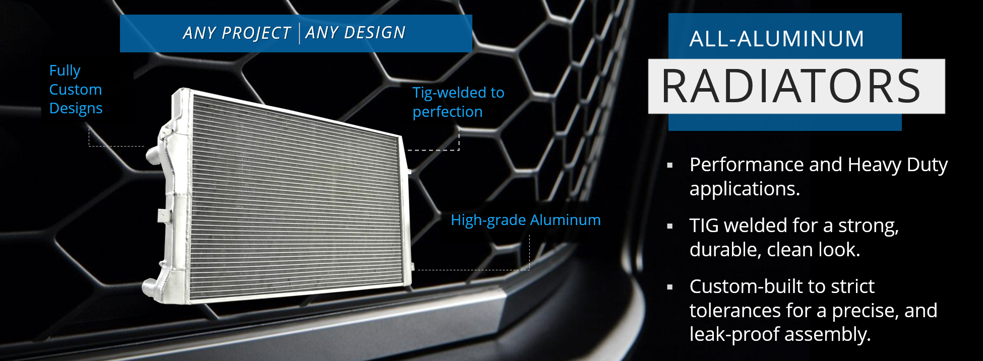 All Aluminum Radiators