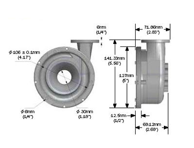 Davies, Craig - EWP130 ELECTRIC WATER PUMP (ALLOY) KIT (12V) - Image 4